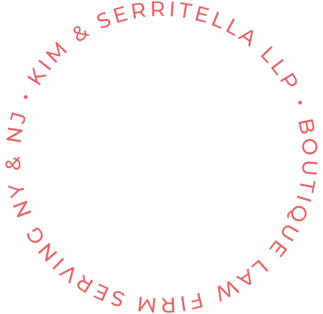 Kim Serritella LLP Boutique Law Firm Serving NY & NJ circle graphic